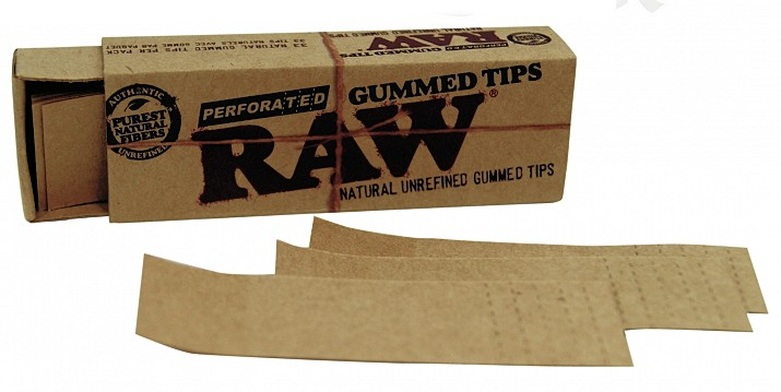 Raw Perforated Gummed Tips High Altitude